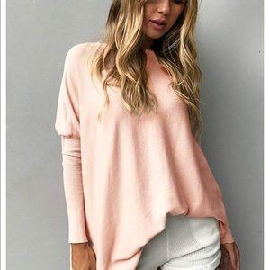 Beautiful women oversized t shirt casual top